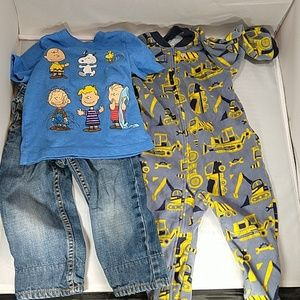 Mixed brand 18-24m boy lot